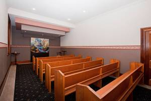 Raymond Terrace Chapel seating area