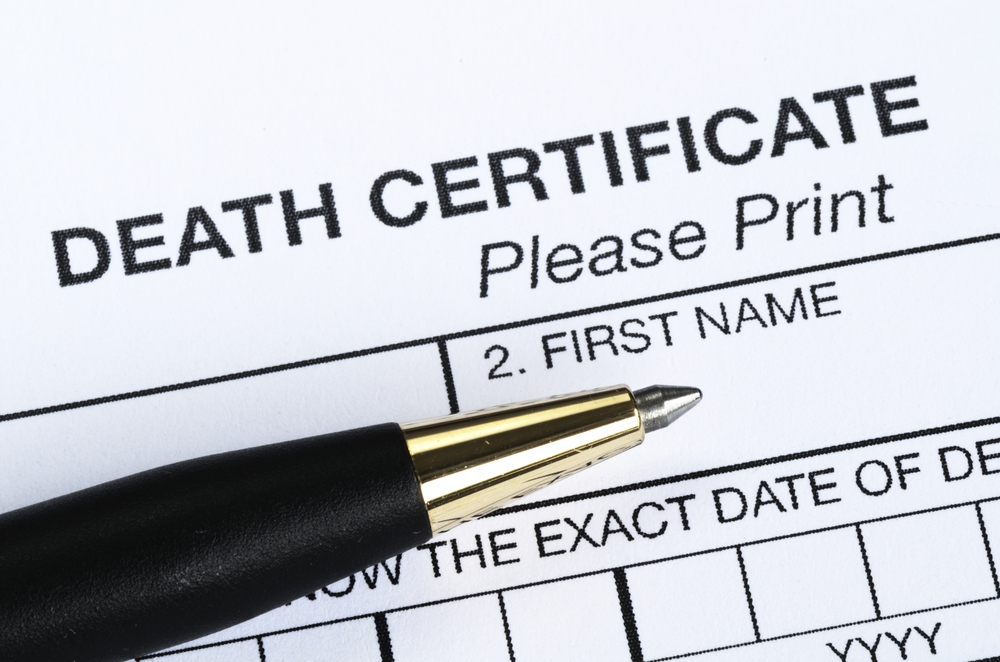 Why is a Death Certificate Necessary?